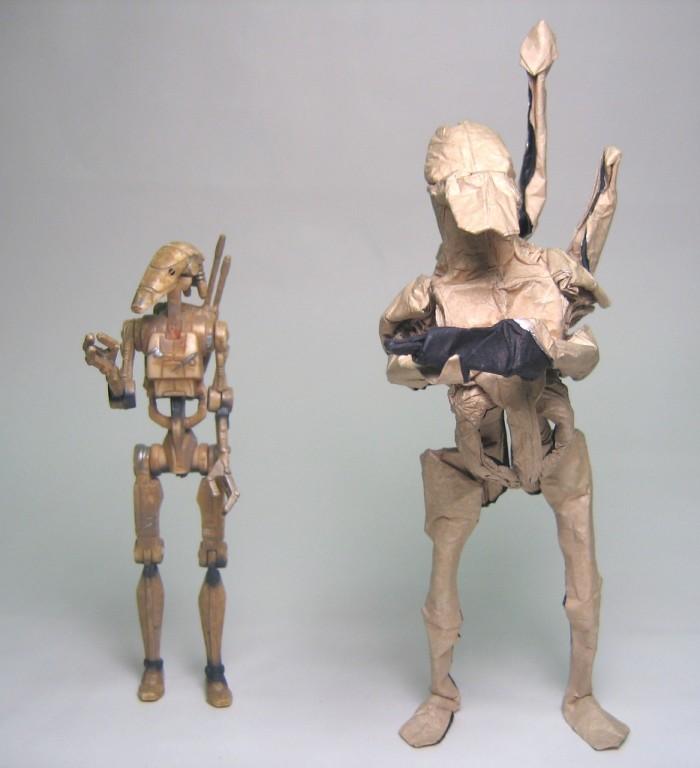 """Оригами """"Звездные войны"""""""