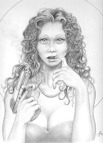 Продолжаем тему рисунков карандашом.