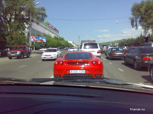 Almaty cars (photo)
