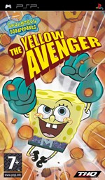 Sponge Bob Square Pants: The Yellow Avenger (PSP)