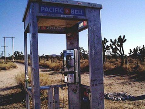 Самая уединённая телефонная будка в мире