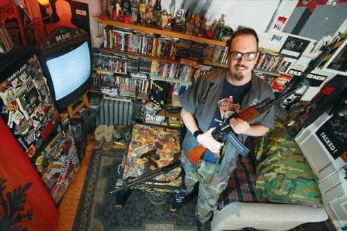 Оружие в домах американских жителей