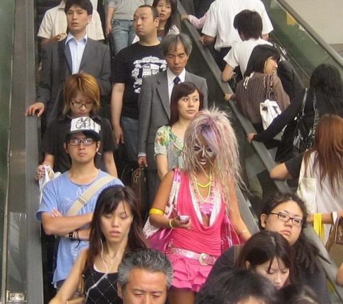 Гламурные японцы
