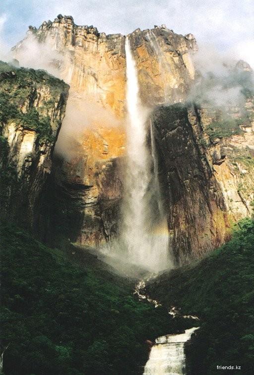 Водопад анхель найден самый высокий