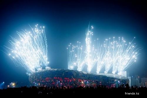 Репетиция церемонии открытия Олимпиады-2008 (10 фото)