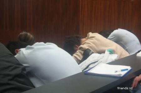 Спим на лекциях