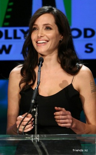Анджелина Джоли на Hollywood Film Festival