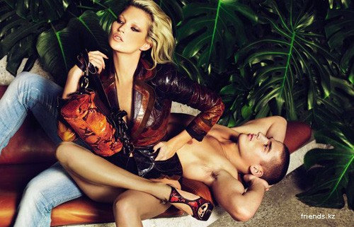 Кейт Мосс рекламирует Cavalli