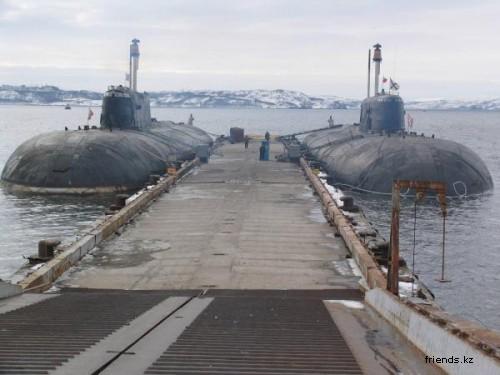 Северный военно-морской флот России.Подводные лодки