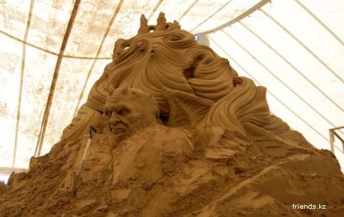 """Делаем """"шедевр"""" из песка"""