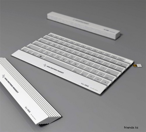 Keystick - концепт ультрапортативной клавиатуры