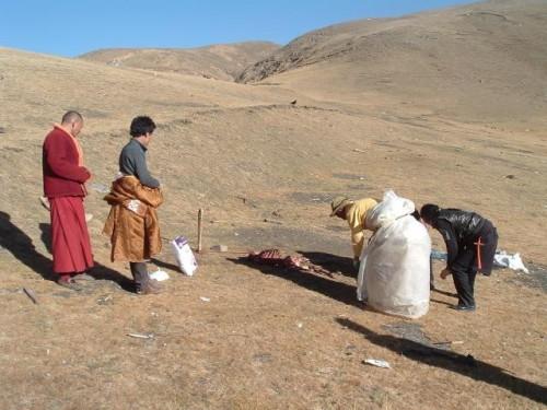 Похороны на Тибете