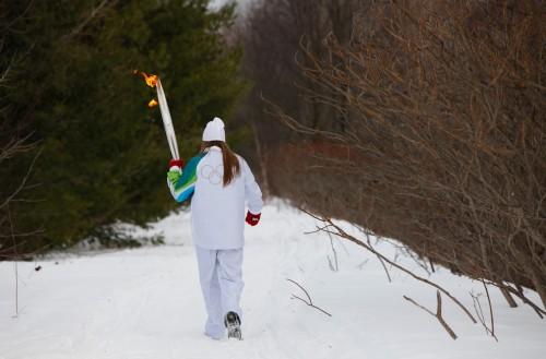 Фотоотчет эстафеты олимпийского огня