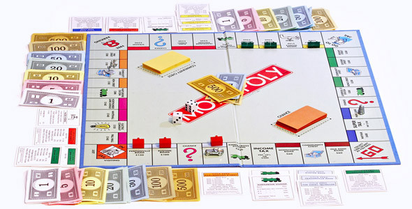 Как сделать монополию в домашних условиях видео