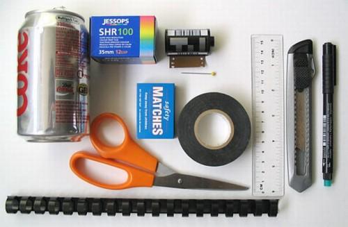 Как сделать одноразовую фотокамеру?