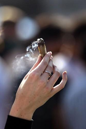 Акции за легализацию марихуаны в США