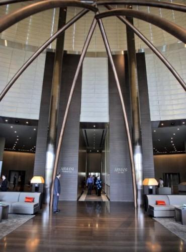 Дубайский отель Armani в небоскребе Burj Khalifa