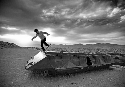 Скейтбординг в Афганистане