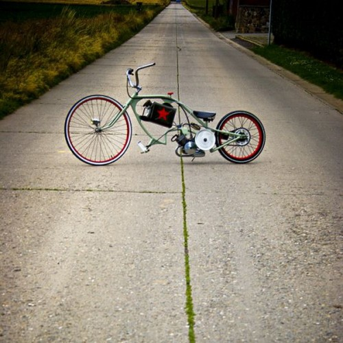 Необычный велосипед своими руками