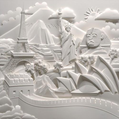 Скульптуры из бумаги