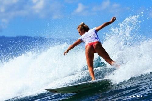 Любительницы серфинга