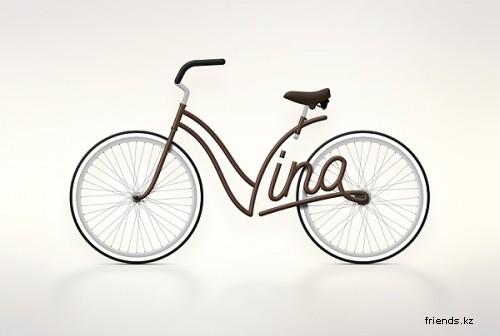 Велосипед с именами