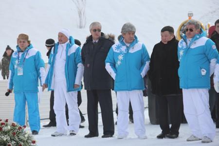 Эстафета огня Азиады - 2011 прошла в Алматы