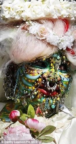 Невеста с пирсингом