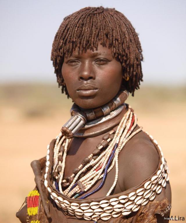 Женщины диких племен африки