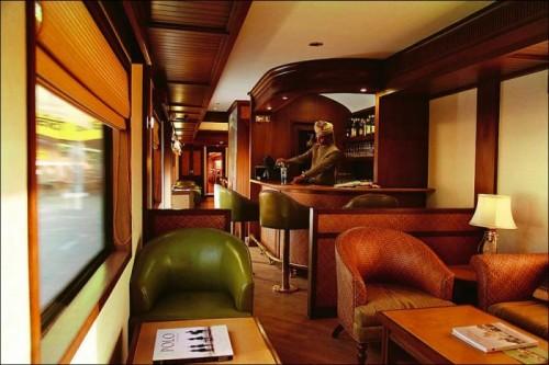 Королевский поезд для богатых особ