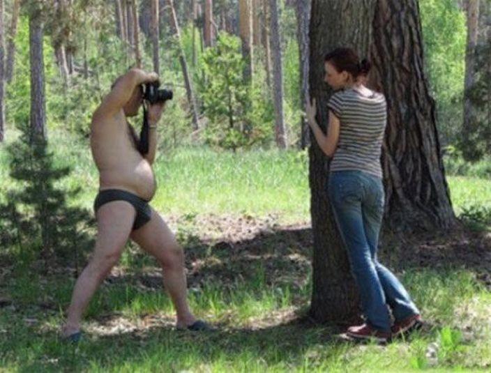 фотографируем гопых жен