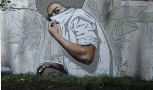 Стрит-арт от уличного художника SmugOne
