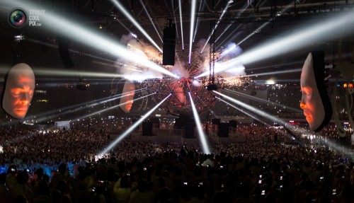 Sensation White show in Amsterdam