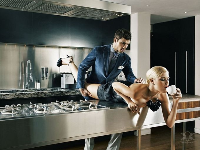 картинки секс на кухне