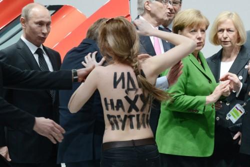 Любовь к Путину в Германии