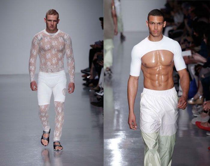 Мужские модные показы