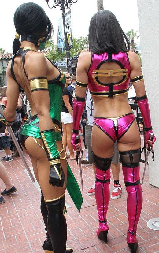 Сексуальные героини mortal combat