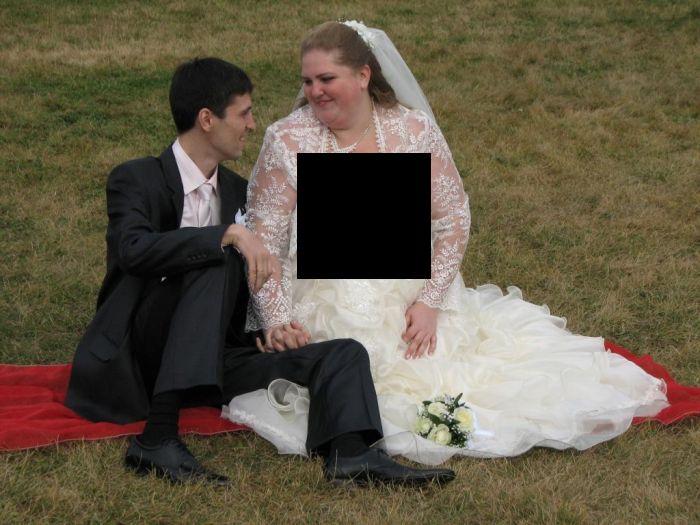 Свадебное платье ужас