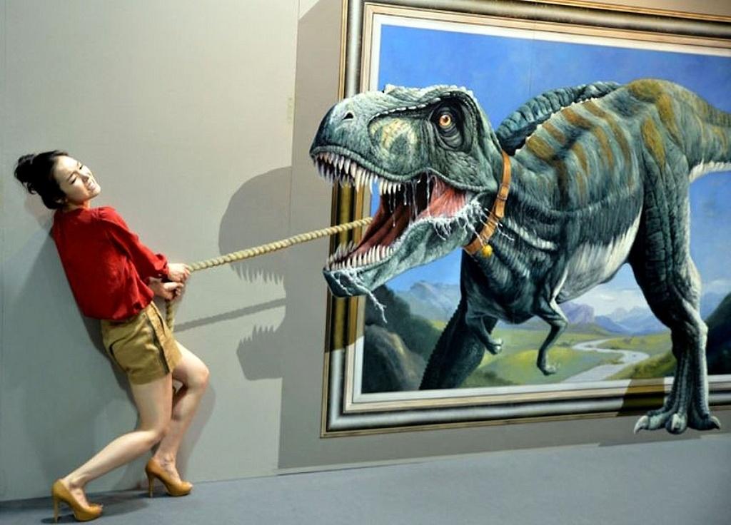 Музеи с 3д рисунками