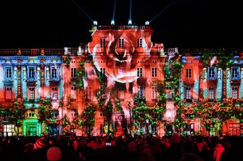 Фестиваль света прошел в Лионе
