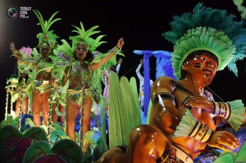 Ежегодный карнавал в Рио 2014