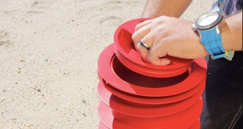 Девайс для скрытия ценных вещей на пляже