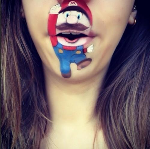 Мультяшки на лице