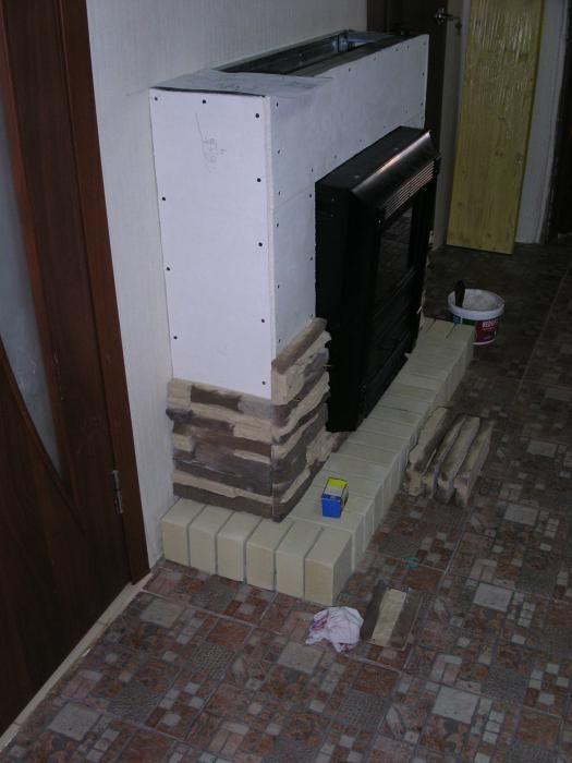 Камин в квартире своими руками из гипсокартона