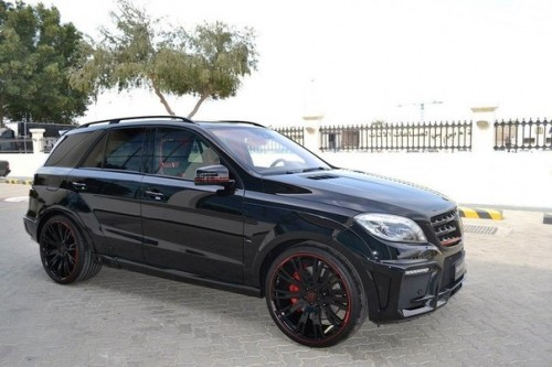 Brabus Mercedes-Benz ML63 AMG