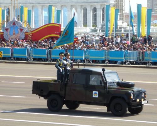 Парад в Астане 7.05.2015 - 2-я часть