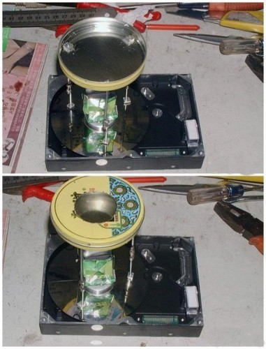 Как из старого жесткого диска сделать аппарат для приготовления сладкой ваты?