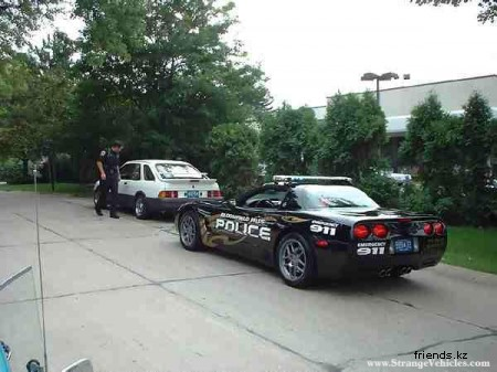 Полицейские машины разных стран