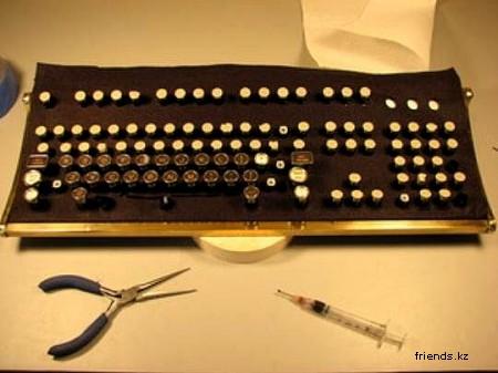Стильная клавиатура своими руками