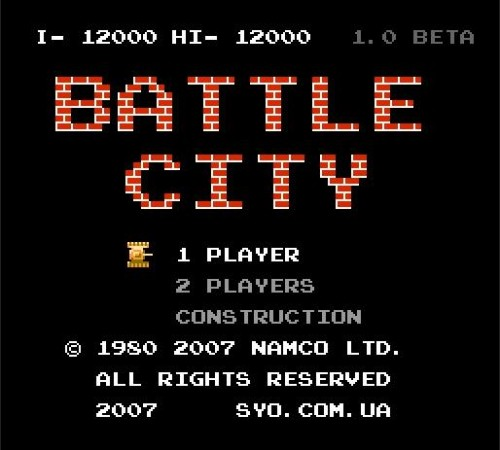 Battle City - танчики